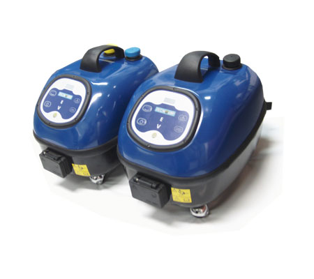 Evo water and detergent steam cleaners