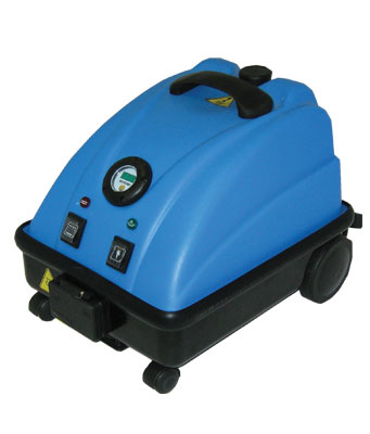 Steam compact cleaning machine