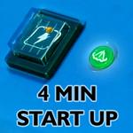 4 min start